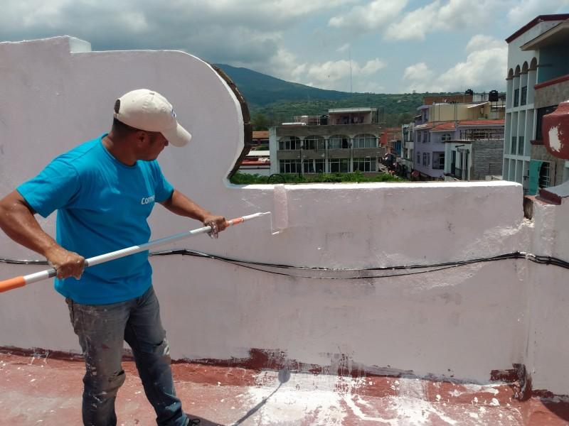 Realizan mantenimiento en Casa de la Cultura de Jiquilpan