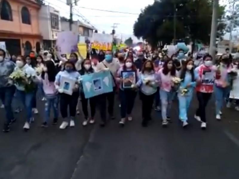 Realizan marcha pacífica para exigir justicia por Aldo