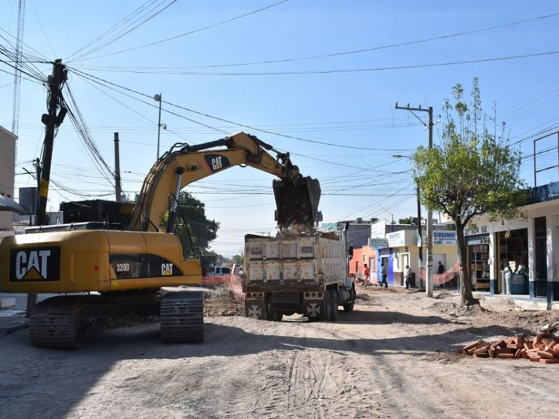 Realizan obras de urbanización en La Palma Pedro Escobedo