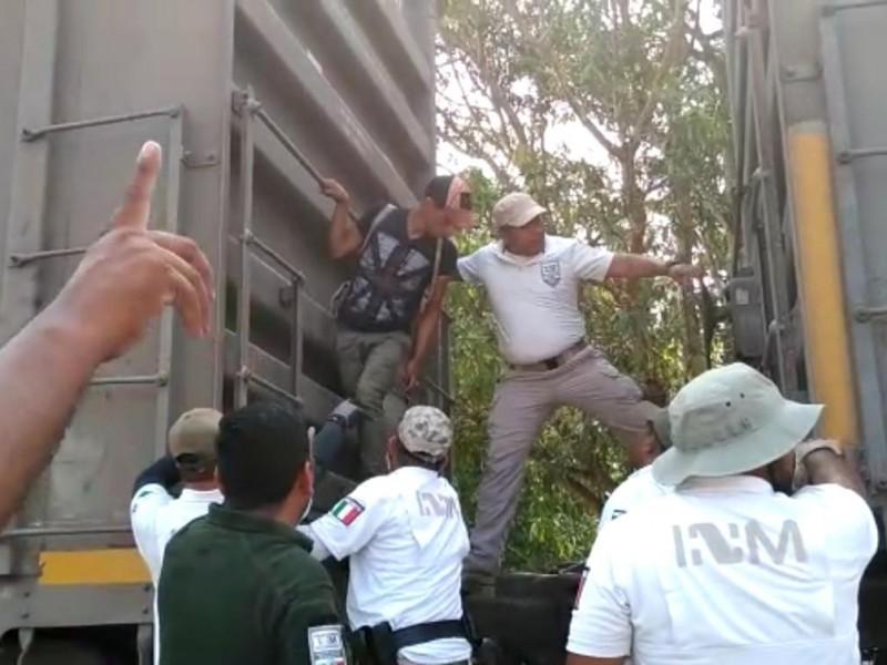 Realizan operativo contra migrantes