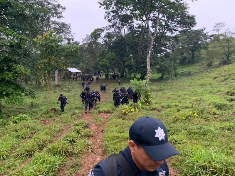 Realizan operativo en los Chimalapas para evitar invasión de tierras