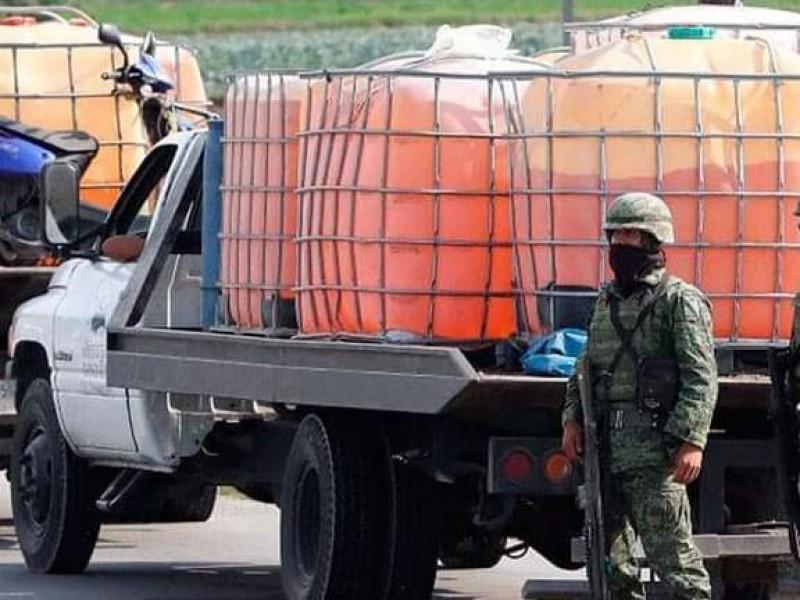 Realizan operativo en San José Carpinteros, Tepeaca