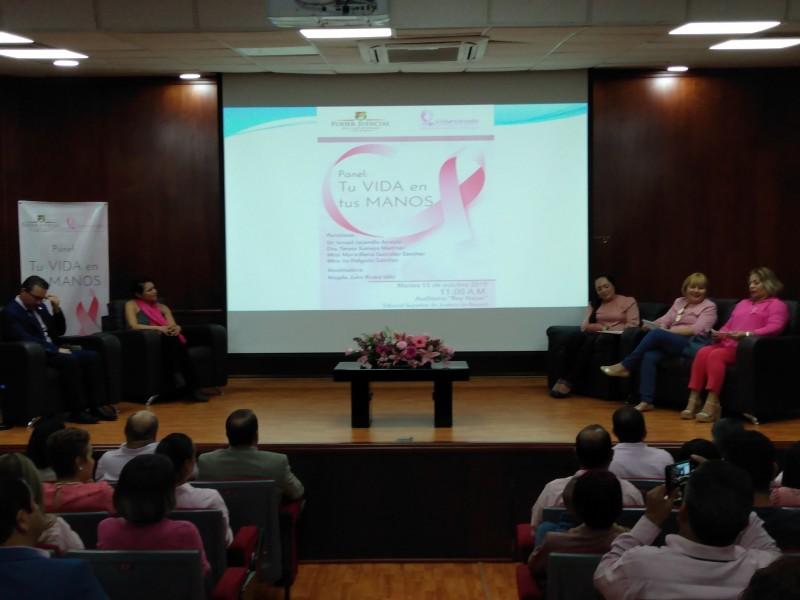Realizan panel de cáncer de mamá en TSJN