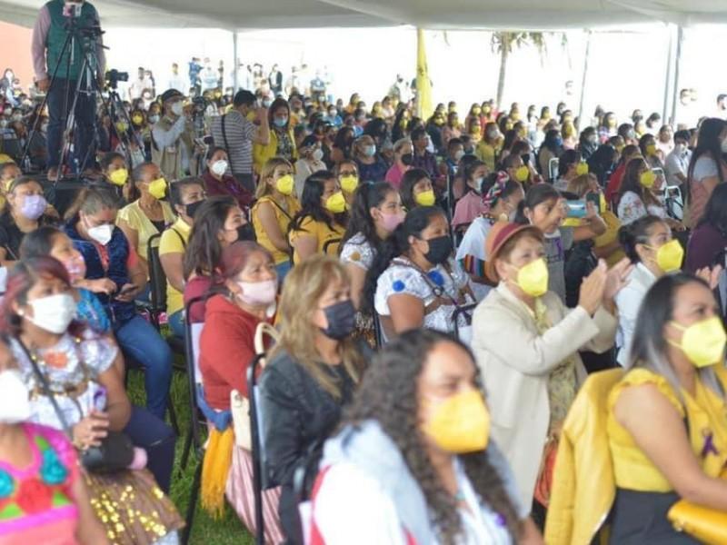 Realiza PRD evento masivo para conmemorar Día de la Mujer