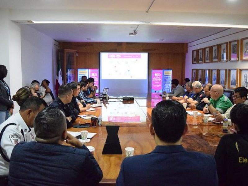 Realizan primera junta de seguridad para Maratón Megacable