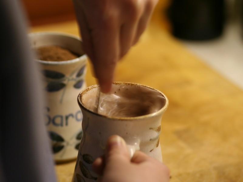 Realizan SCLC la tradicional chocolatada