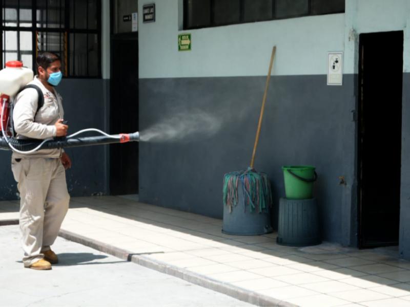 Realizan segunda etapa de fumigación contra mosco