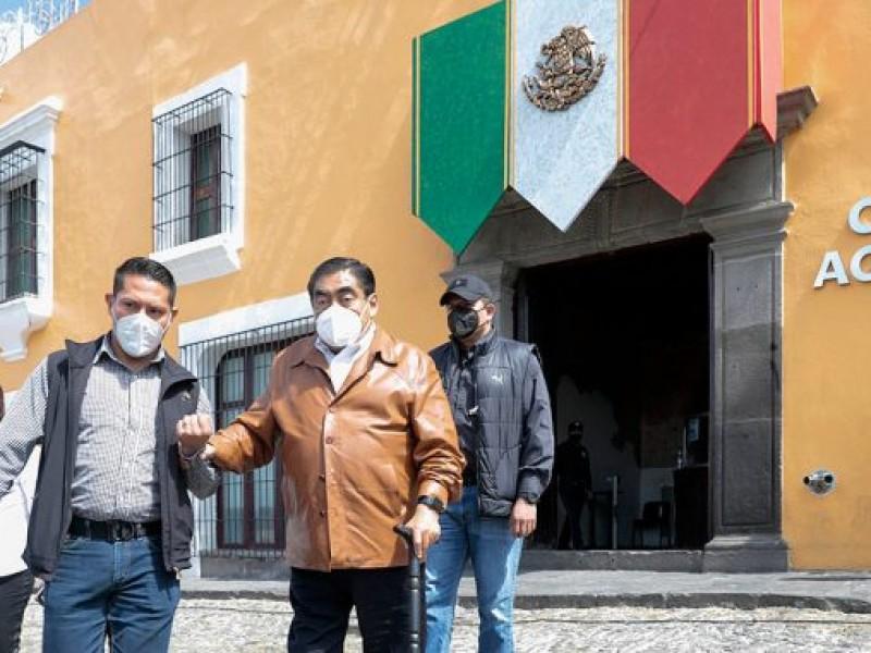 Realizan Segundo Simulacro Nacional 2021 en Casa Aguayo