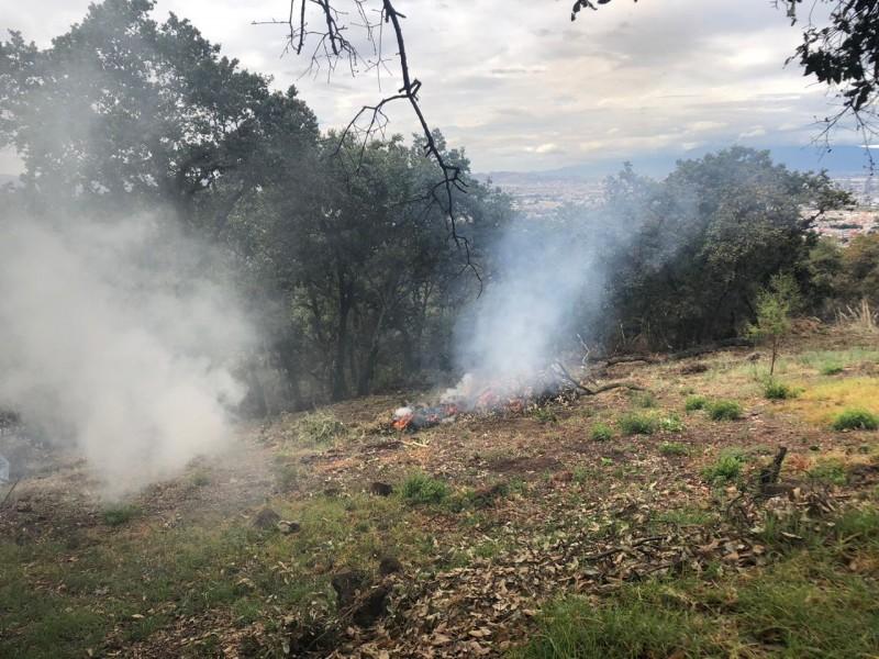 Realizan simulacro de incendio en XXV Zona Militar