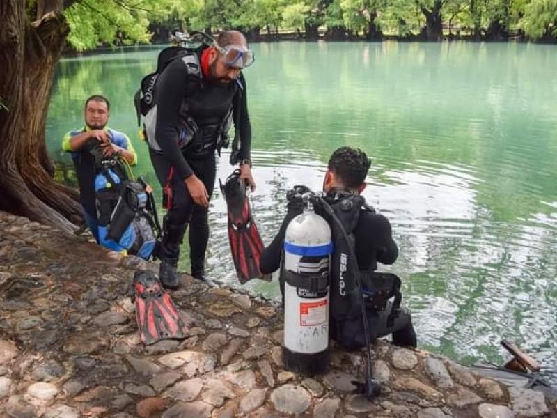 Realizan trabajos de limpieza y preservación en Lago de Camécuaro