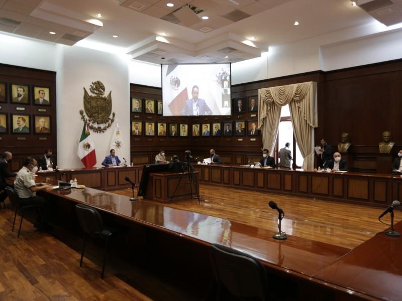 Realizar la 483a. Sesión de la Coordinación Estatal para la Construcción de la Paz