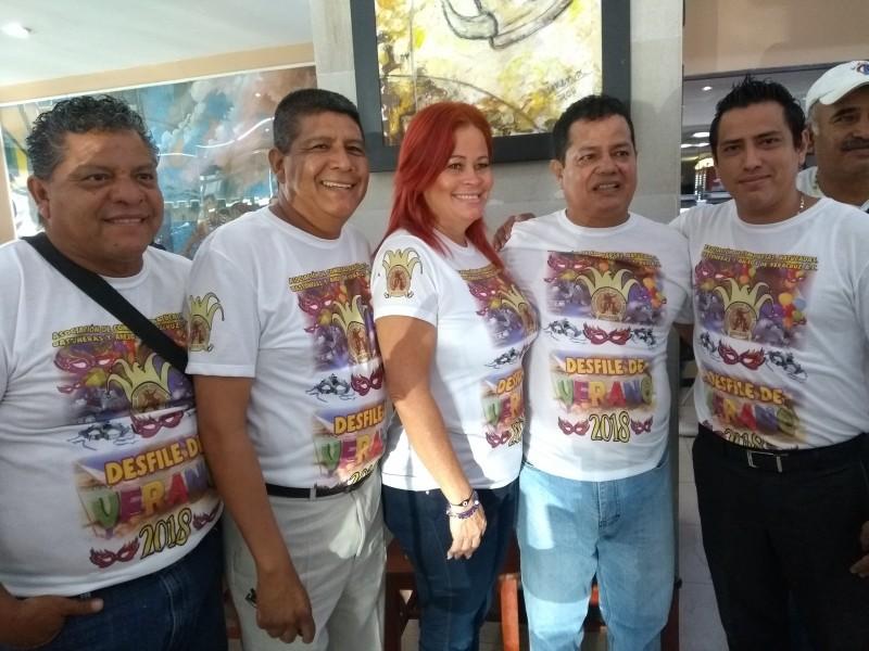 Realizarán carnaval de verano en Veracruz