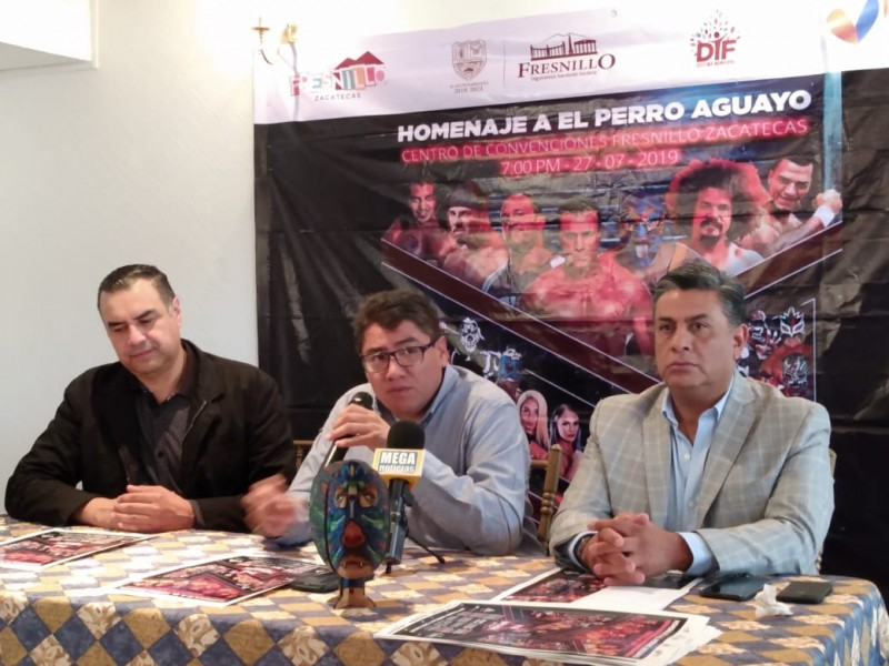 Realizarán homenaje al Perro Aguayo en Fresnillo