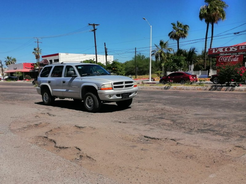 Realizarán jornadas de limpieza y bacheo en La Paz