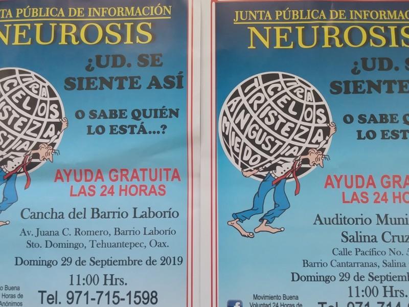 Realizarán junta pública de información de Neurosis