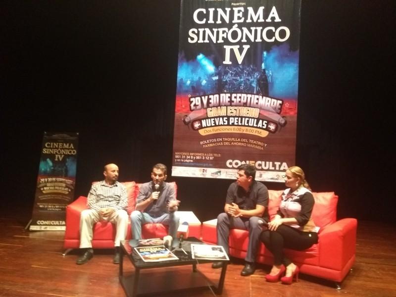 Realizarán la 4a edición de Cinema Sinfónico