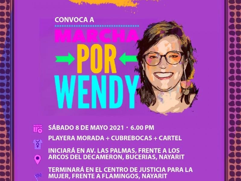 Realizarán marcha para exigir localización de Wendy Sánchez