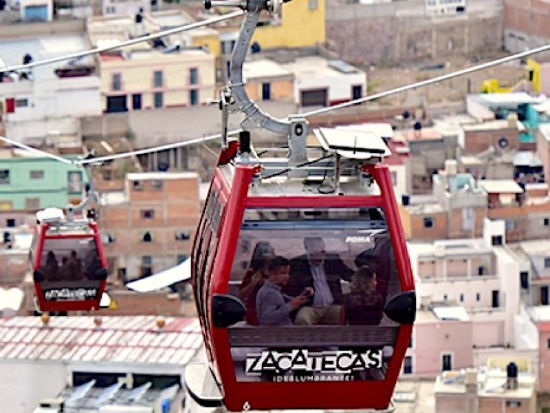 Reanuda operaciones Teleférico de Zacatecas