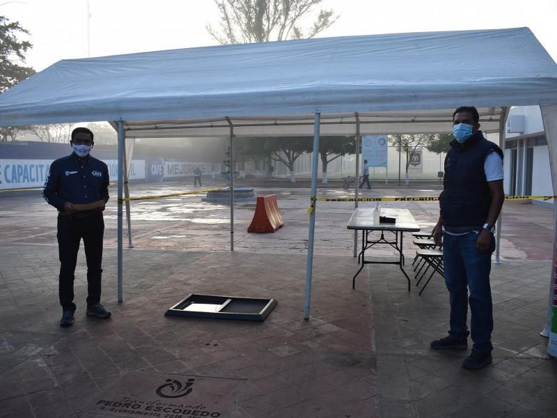 Reanudan con éxito actividades deportivas en Pedro Escobedo