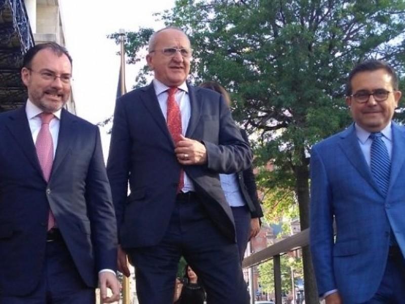 Reanudan México y EUA negociaciones del TLCAN