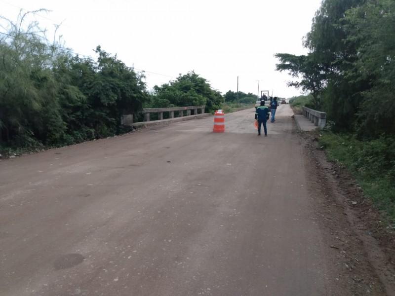 Reanudan reparación de la carretera Unión Hidalgo-Juchitán
