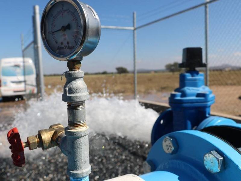 Reanudan servicio de agua para 900 viviendas en Morelos
