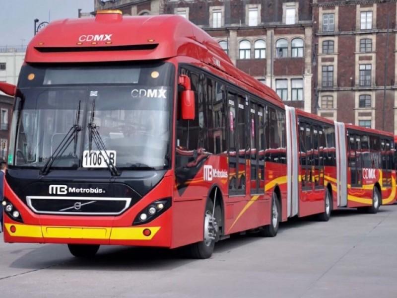 Reanudan servicio en Línea 7 del Metrobús