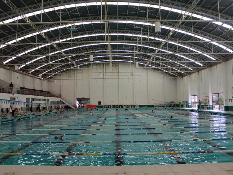 Reanudarán actividades en la  Alberca Olímpica Zacatecas
