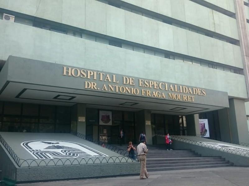 Reapertura de área de trasplantes en hospital La Raza