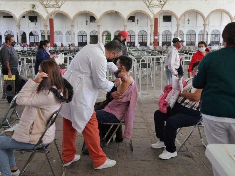 Rebasa las expectativas la vacunación para rezagados