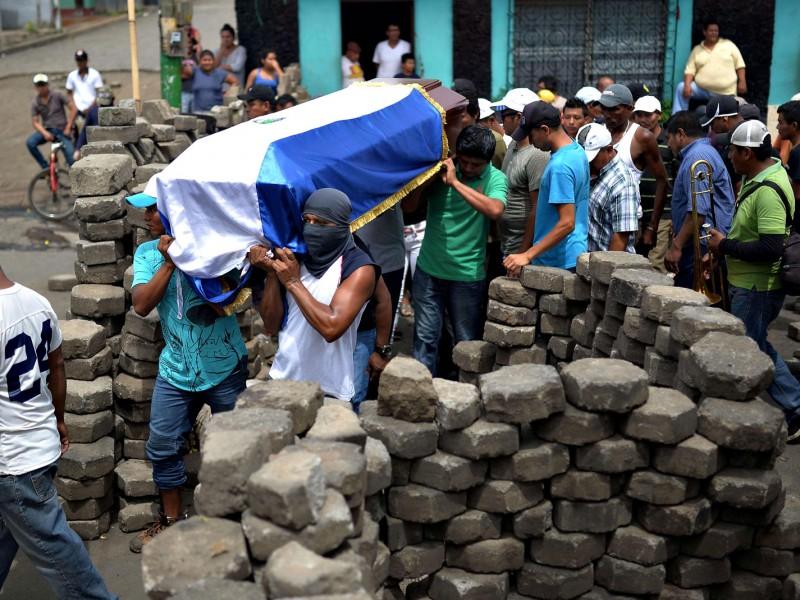 Rebelión en Nicaragua deja más de 350 muertos