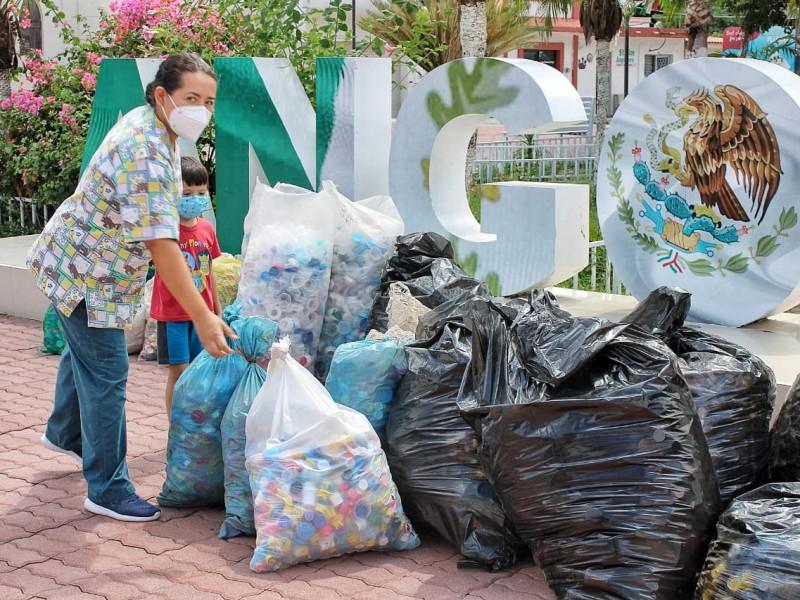 Recaban  3.5 toneladas de resíduos para Casa Valentina
