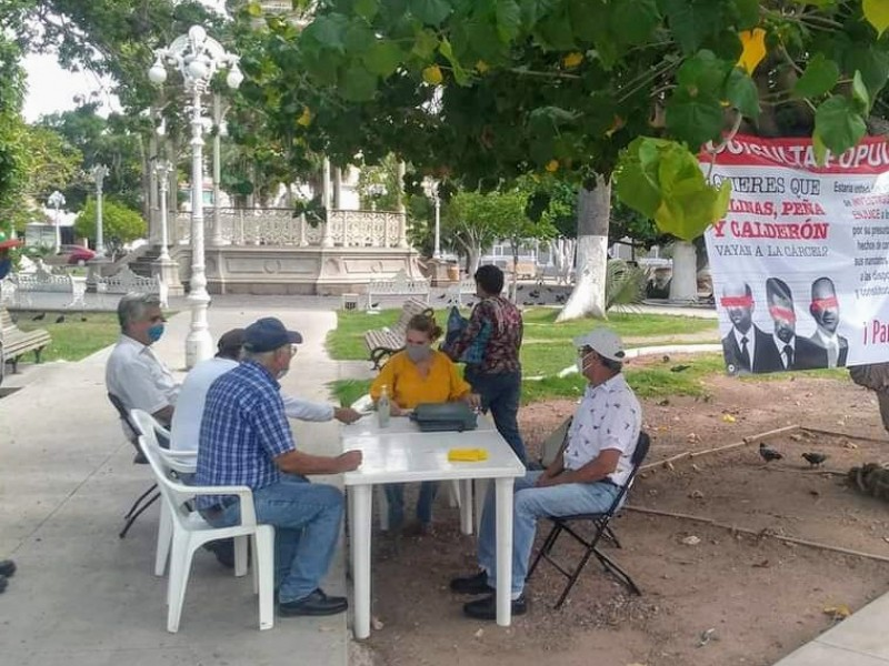 Recauda Guaymas 1,500 firmas para consulta popular