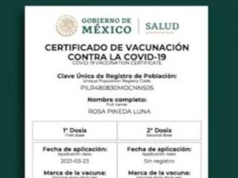 Rechaza Coparmex requisito de vacunación para entrar a negocios