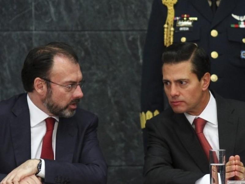 Rechaza juez citar a Peña Nieto y Videgaray