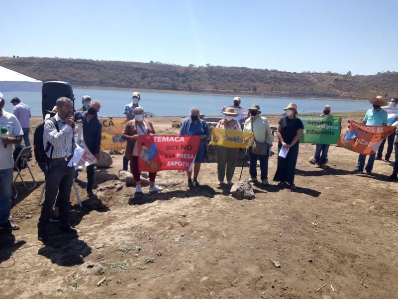 Rechazan presa El Zapotillo como solución al agua de Guadalajara