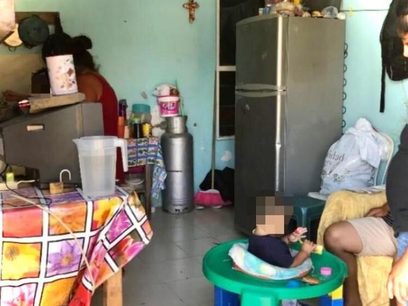Recibe apoyo madre soltera que cambiaba televisor por comida