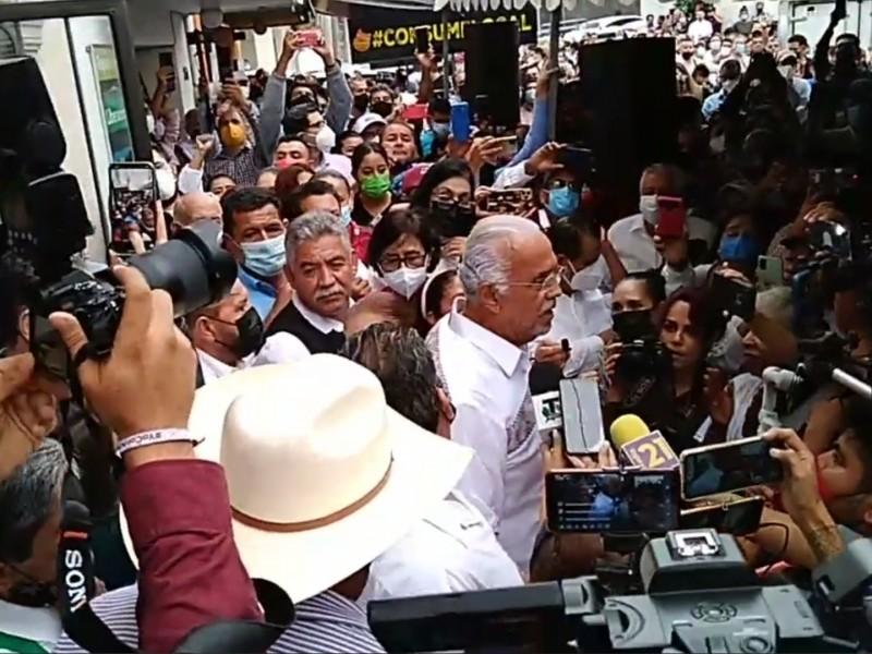 Recibe Miguel Ángel Navarro constancia como gobernador electo de Nayarit