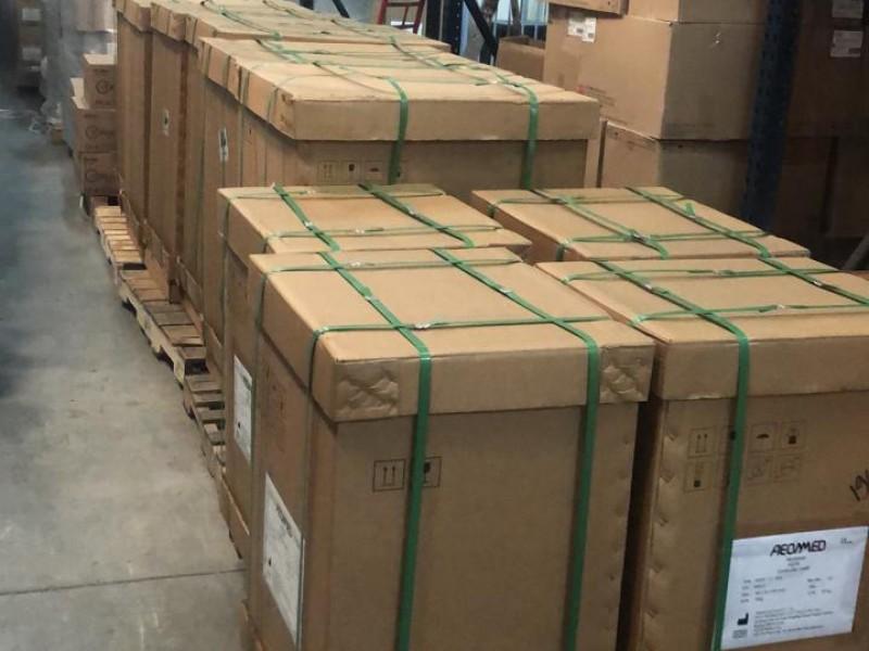 Recibe IMSS en BCS, 15 ventiladores volumétricos