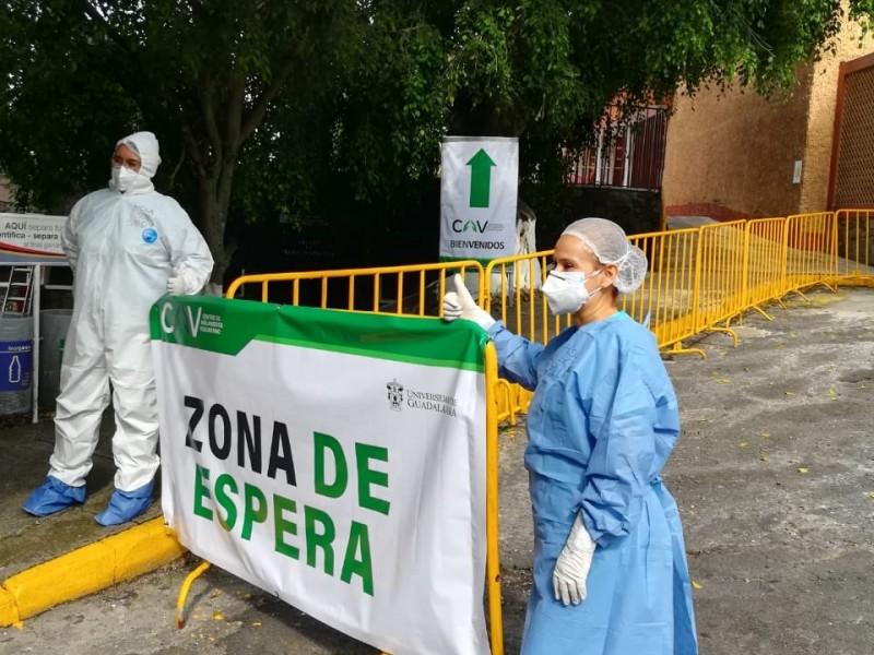 Recibe UdeG a primer enfermo en Centro de Aislamiento COVID-19