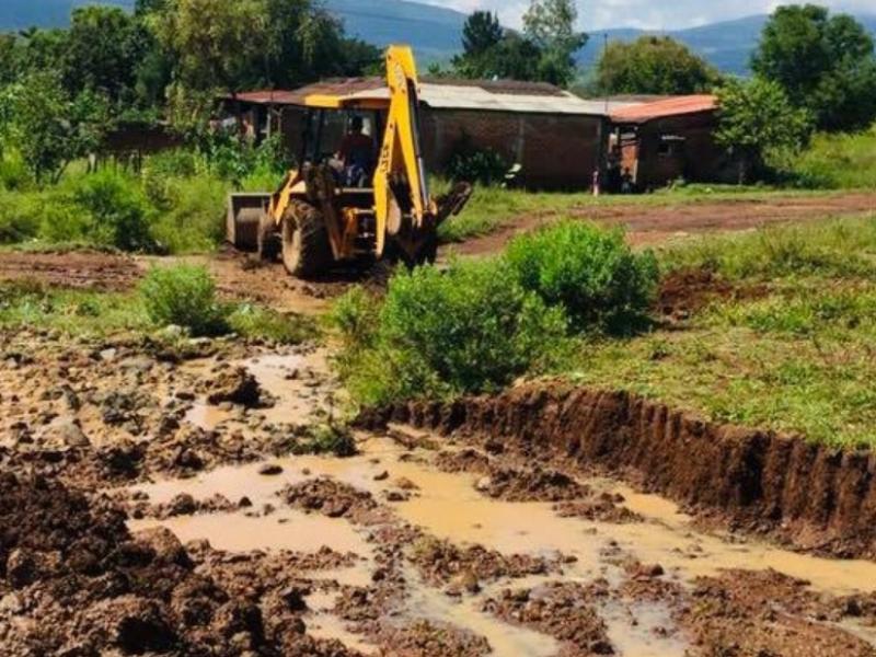Reciben apoyo familias damnificadas del municipio de Chilchota