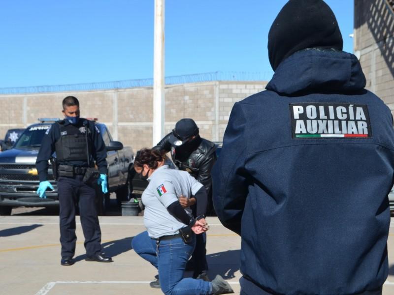 Reciben capacitación 200 policías auxiliares