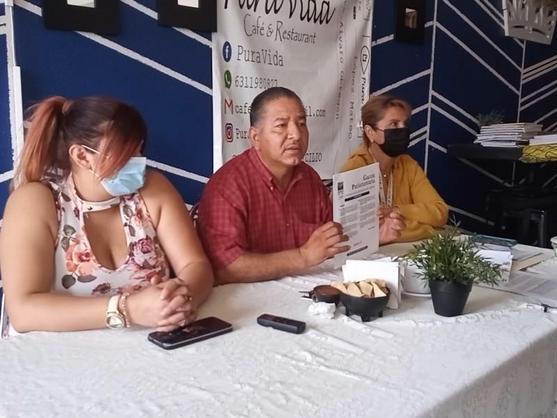Reciben intimidación Usuarios Unidos por Sonora por protesta en CFE