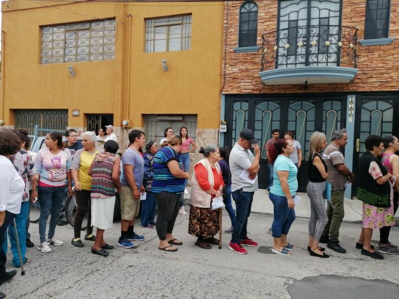 Reciben menaje familias afectadas por granizada en Tlaquepaque