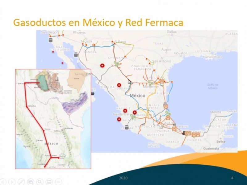 Recibirá Jalisco gas natural de Texas