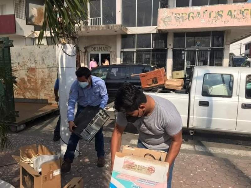 Reciclatrón  Tuxpan acopió 2 toneladas de residuos