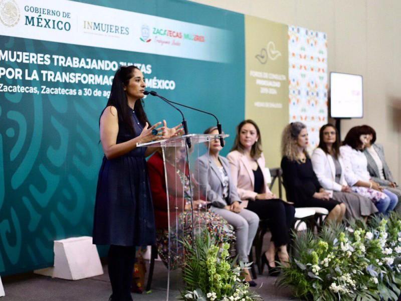Reclama Inmujeres rechazo del matrimonio igualitario en Zacatecas