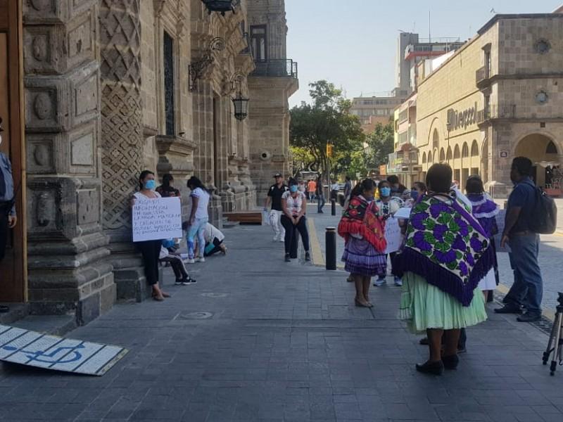 Reclaman indígenas la falta de inclusión para apoyos