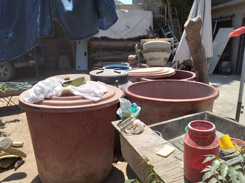 Reclaman vecinos de vista hermosa la falta de agua potable