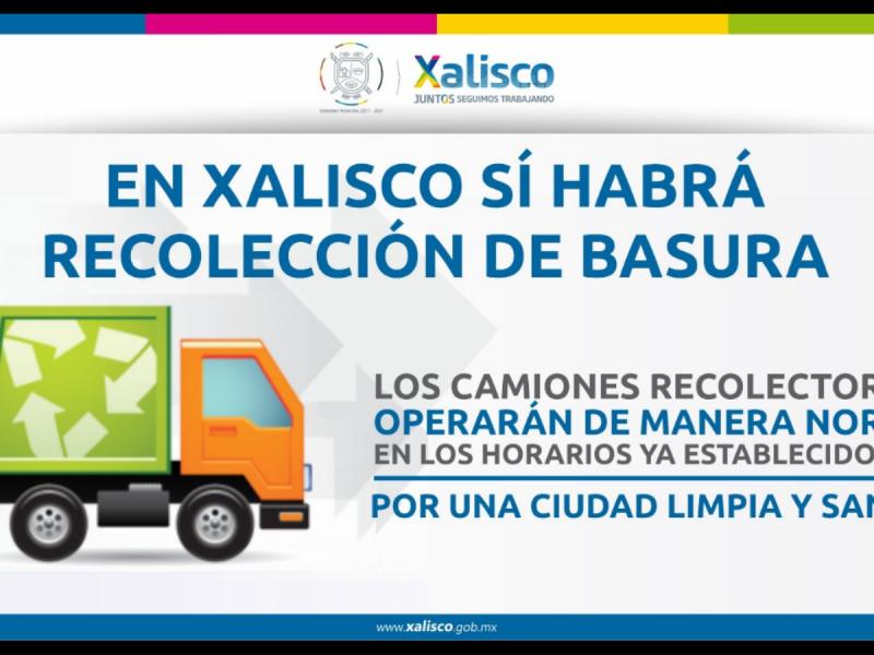 Recolección de basura en Xalisco no sufrirá modificaciones